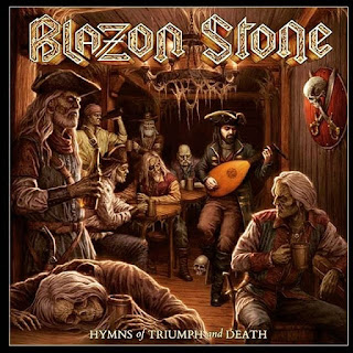 "Το τραγούδι των Blazon Stone ""Iron Fist Of Rock"" από το album ""Hymns of Triumph and Death"""