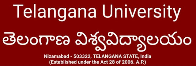 Telangana University degree time table 2018-2019