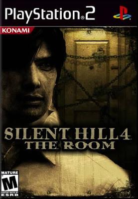 Capa Silent Hill 4 The Room 2004 PS2 Traduzido em Português