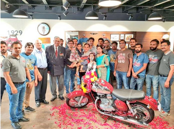 Jawa motorcycles booked on 1st 2 days will be delivered by end May 2019