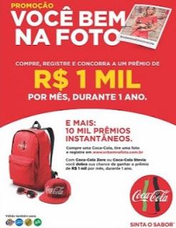 Cadastrar Promoção Coca-Cola 2017 Você Bem Na Foto