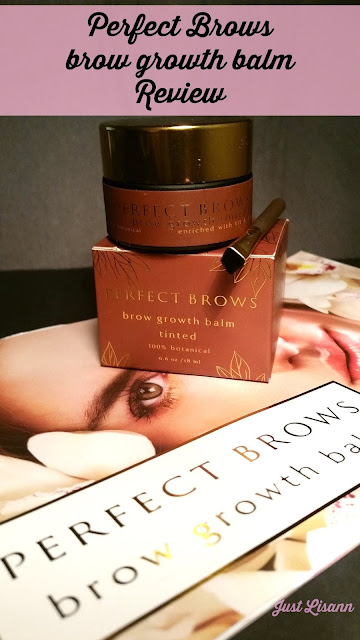 Perfect Brows brow growth balm review