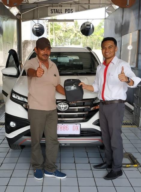 TOYOTA TEMANGGUNG - Serah Terima Toyota Rush Atas Nama Bapak Puji