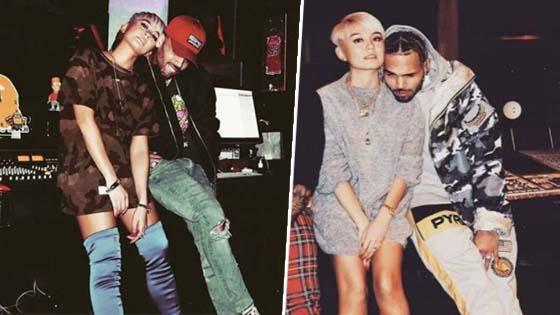 Gambar Intim Tersebar, Benarkah Agnez Mo Bercinta Dengan Chris Brown?