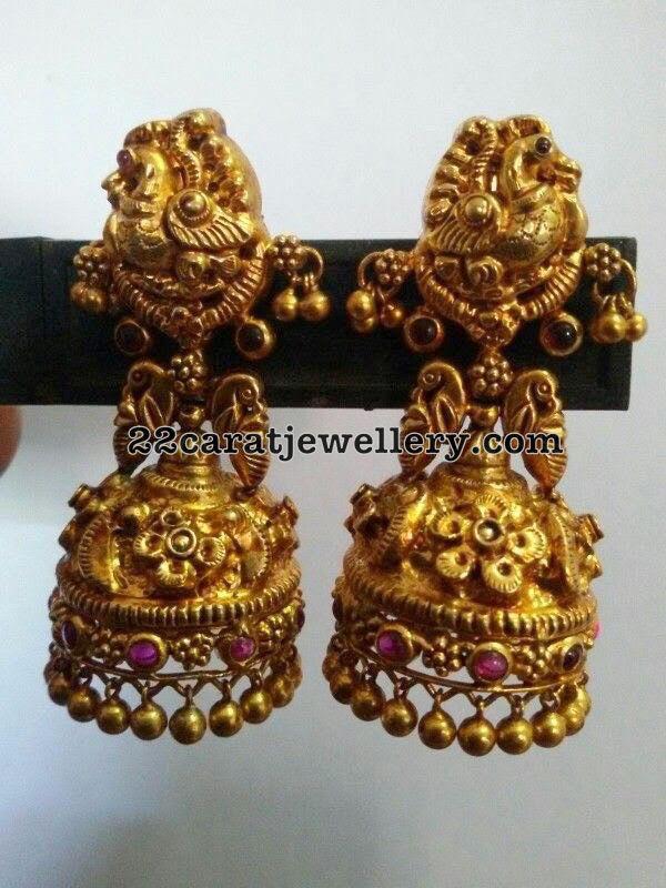 Antique Jhumkas Gallery In 92 5 Silver Jewellery Designs