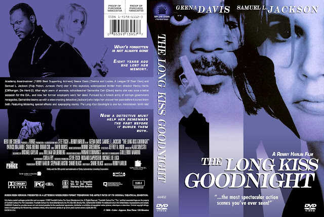 The Long Kiss Goodnight DVD Cover