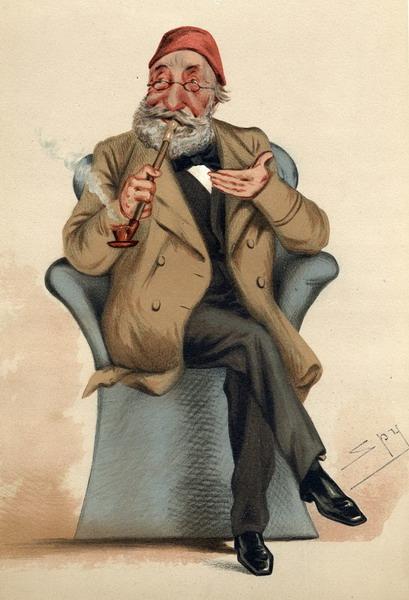 Midhat Pasha in cartoon version