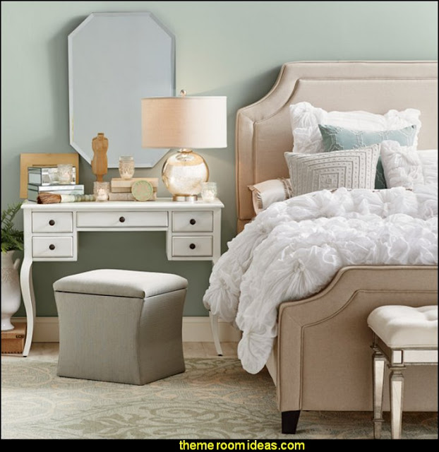 Maddock Upholstered Bed    girl preteen bedroom ideas - girls bedroom ideas - teens bedroom