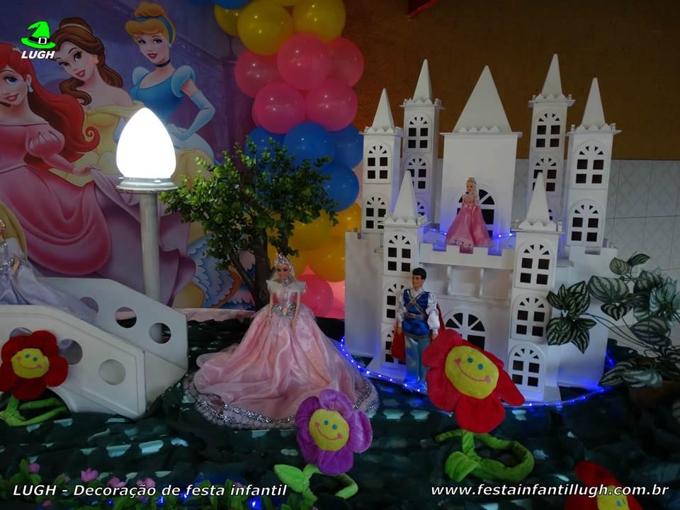 Decoraç u00e3o Princesas Disney festa de aniversário infantil Festa Infantil