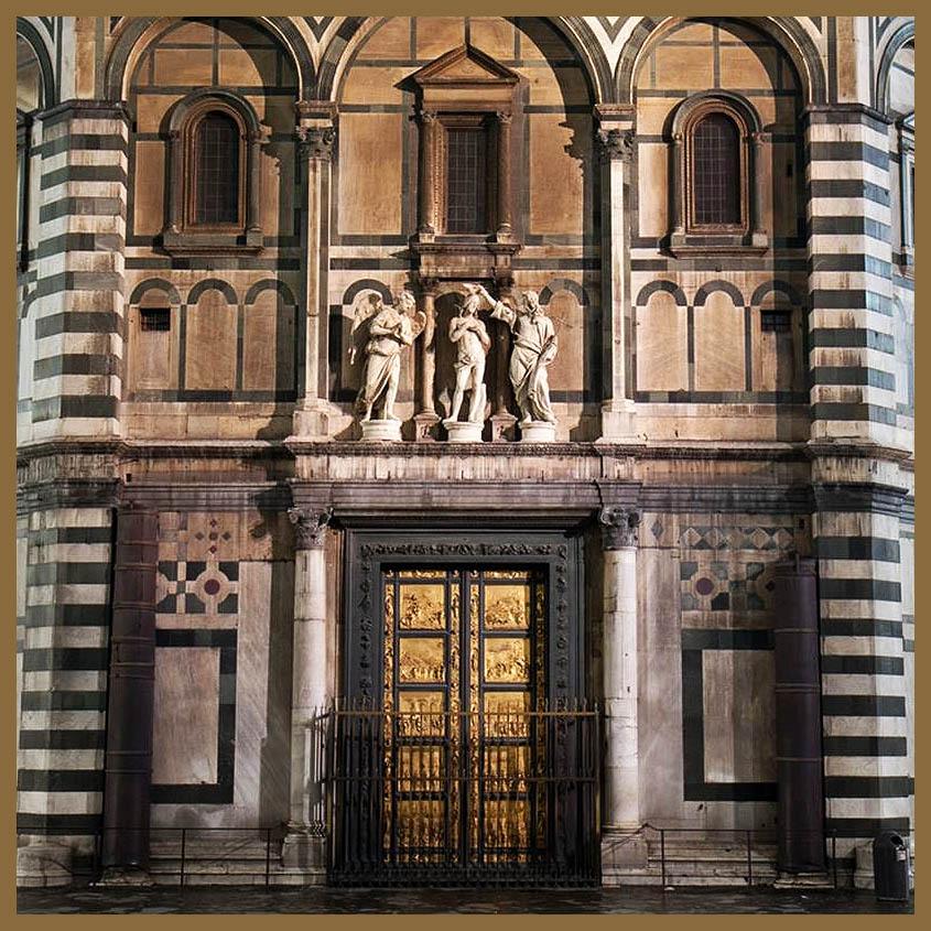 Pura kastig la puerta del para so lorenzo ghiberti for Puerta 4 del jockey