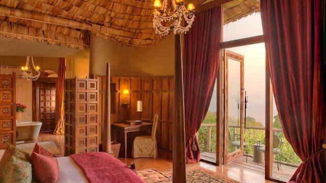 andBeyond Ngorongoro Crater Lodge in Tanzania