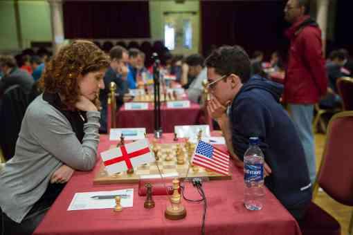 Fabiano Caruana participe au tournoi international d'échecs de l'île de Man - Photo © site officiel