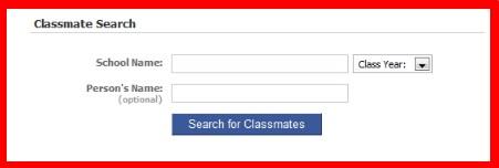 find classmates on facebook