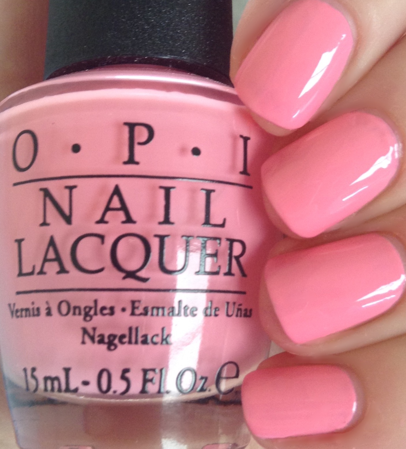 Suzie Nails New Orleans Is A Lovely Bright Bubblegum Pink Nail Polish Shade