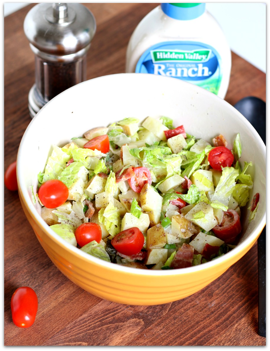 Ranch BLT Potato Salad
