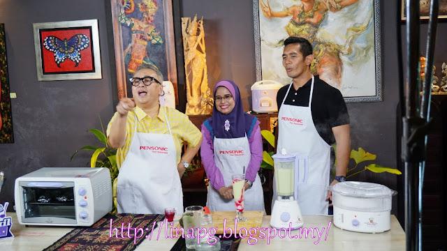 Shooting bersama chef mail dan fahrin ahmad