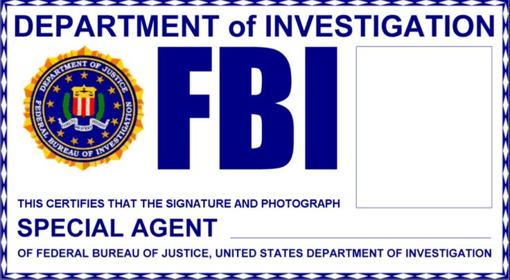 Things I Do When I'm Bored: Supernatural FBI Badges