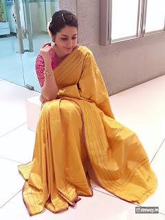 Raashi Khanna Latest Stills in Yellow Saree