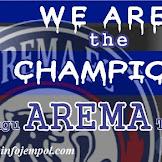 Lirik WE ARE THE CAMPION-Lagu AREMA Terbaru (Download Mp3)