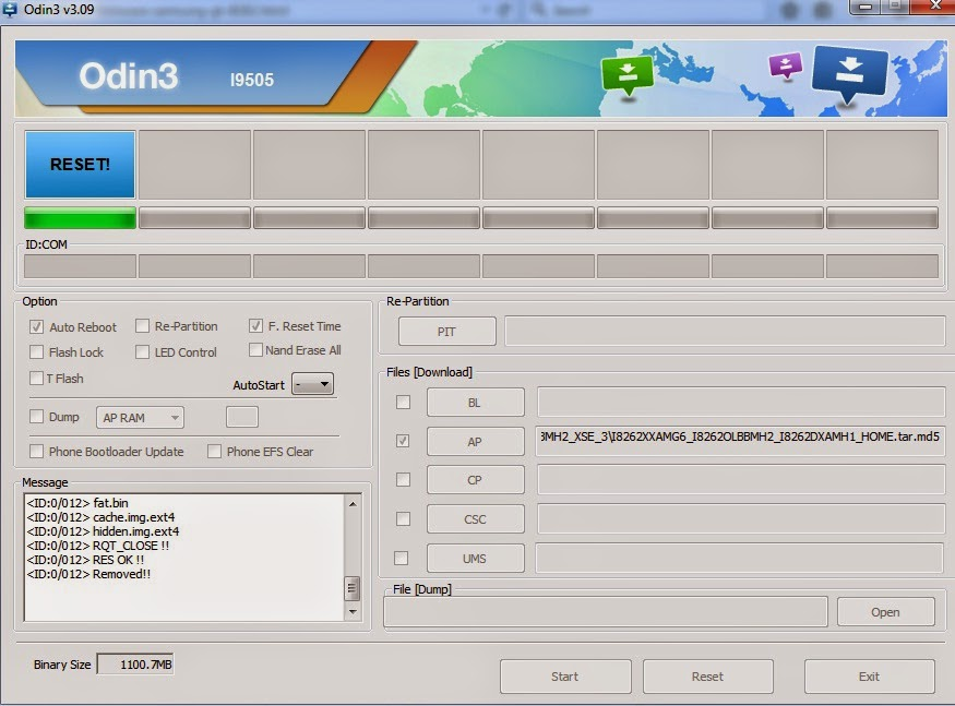 Cara Flash Samsung Galaxy Core (GT-i8262)