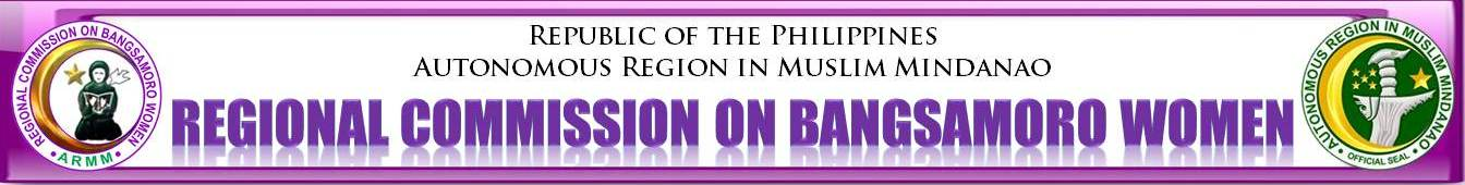 Regional Commission on Bangsamoro Women