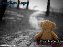 Terjemahan Lagu Avril Lavigne ~ When Your're Gone