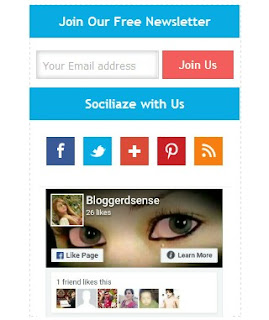 Faceboo-and-email-subscribe-box-widget