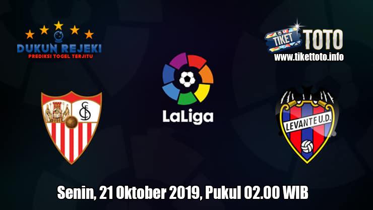 Prediksi LaLiga Sevilla VS Levante 21 Oktober 2019
