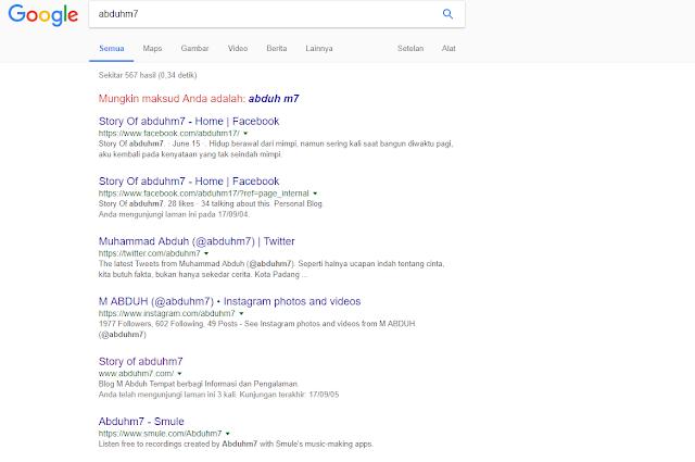 abduhm7 penelusuran Google
