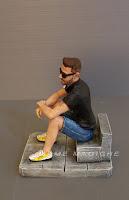 statuina personalizzata realizzata a mano marito mini ritratti action figures orme magiche