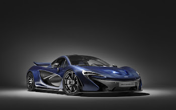 Wallpaper: Blue McLaren P1