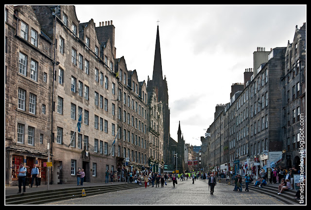 Royal Mile Edimburgo (Escocia)