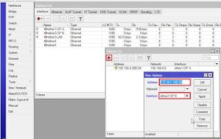 konfigurasi failover menggunkan mikrotik