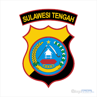Polda Sulawesi Tengah Logo vector (.cdr)
