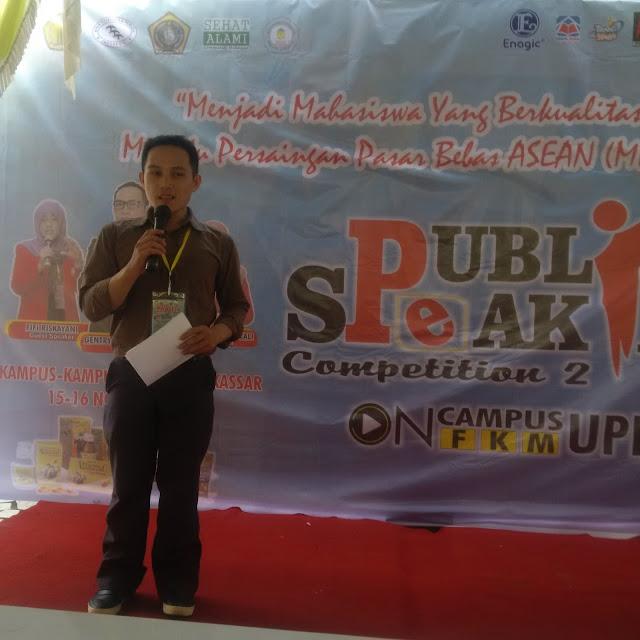 """Tingkatkan kemampuan mahasiswa FKM UPRI dan BKPI gelar kegiatan """" Public Speaking """""""