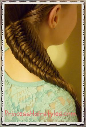 Super 3 Strand Fishtail Braid Hairstyle Hairstyles For Girls Hairstyles For Women Draintrainus