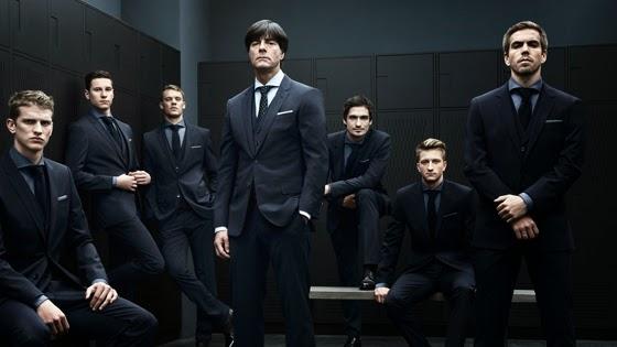 Hugo Boss para Inglaterra en el Mundial 2014 Brasil.  @Blocdemoda