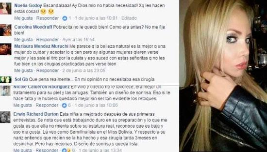 El cambio de la Miss Villazón Gabriela Soleto