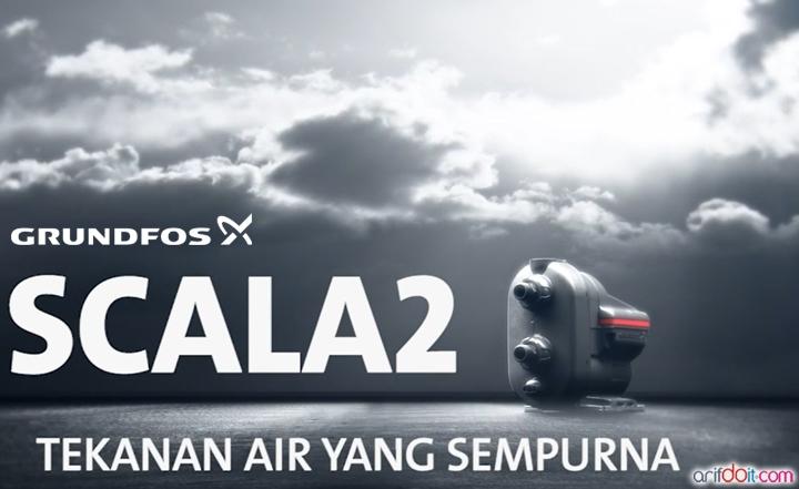 "Grundfos Scala 2 "" Pompa Air Pendorong Hemat Energi & Berteknologi Tinggi Untuk Tekanan Air Yang Sempurna """
