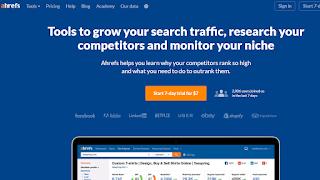 Ahrefs  Keyword Research Tool