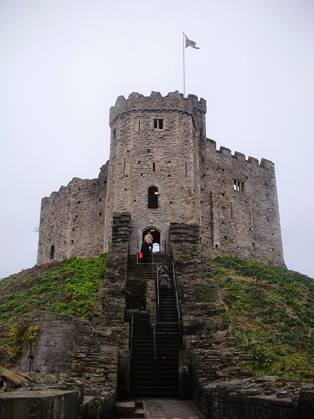 Cardiff Castle in Cardiff, Wales