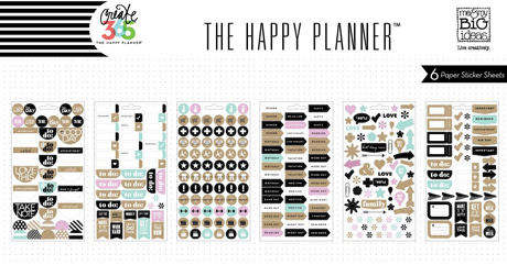 Snc 39 s for Happy planner accessories