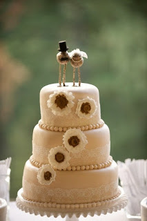 Sweet Bird Wedding Cake Topper