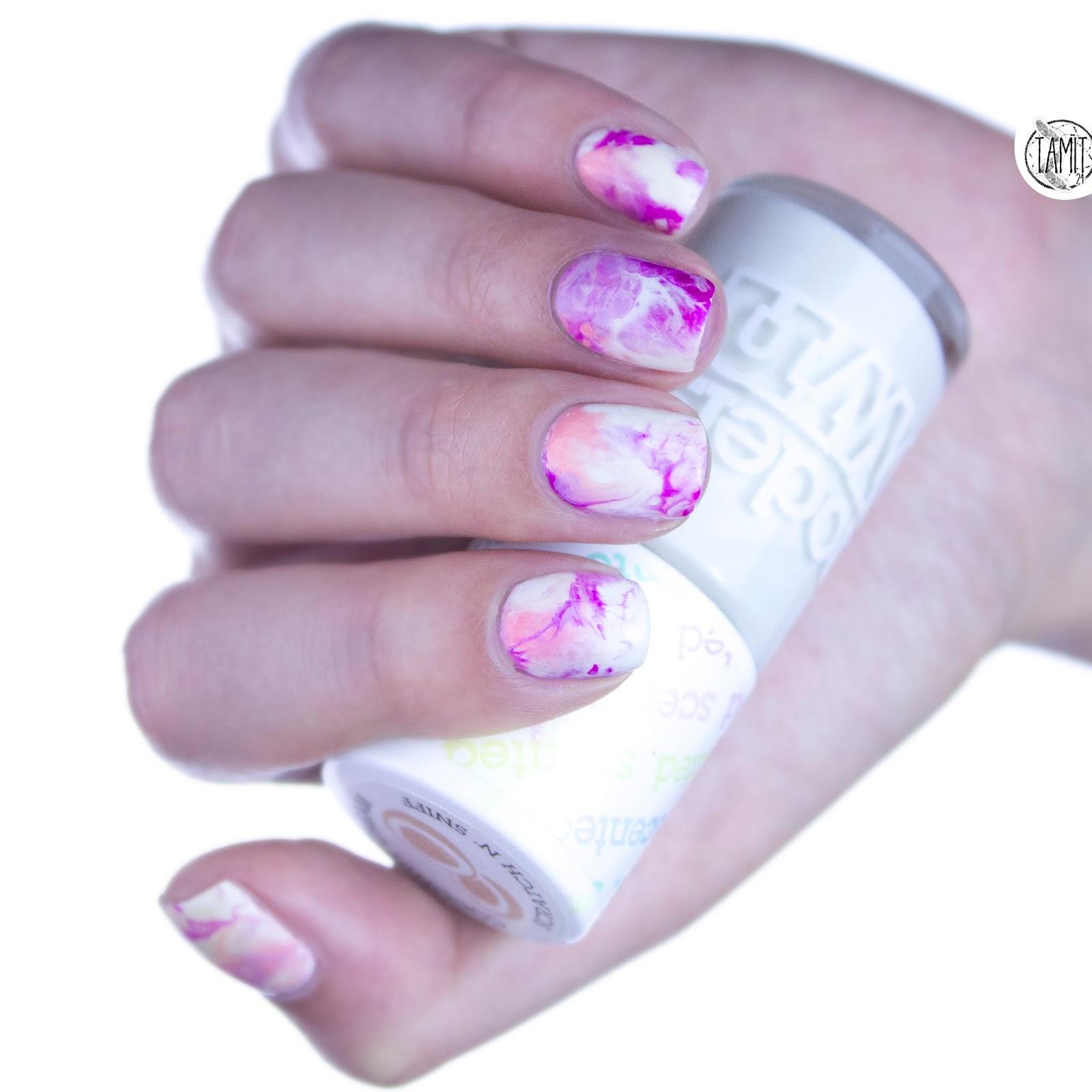 Cotton Candy Nail Polish La Carte: Fall In ...naiLove!: Pastel Marble Nails