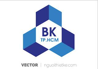 Logo Đại học Bách Khoa Tp HCM vector