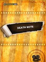 capa do livro Death Note - Amarela sem ilustração.