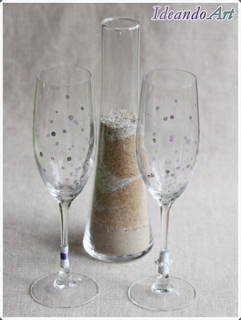 Copas handmade boda