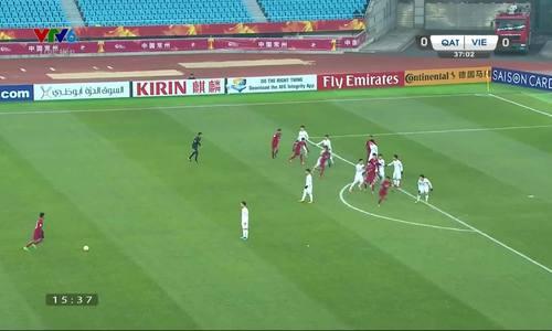 trọng tài bắt trận U23 Việt Nam vs U23 Qatar