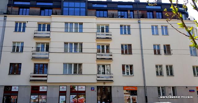 Warszawa Warsaw Kamienica architektura Mokotów architecture