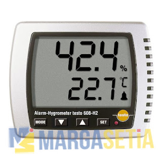 Jual Digital Thermohygrometer With Dewpoint & Temp. Monitor Testo 608-H2